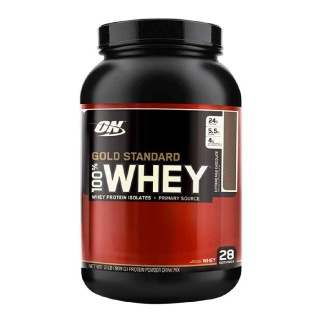 ON (Optimum Nutrition) Gold Standard 100% Whey Protein,  2 Lb  Extreme Milk Chocolate