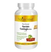 Natures Velvet Garcinia Cambogia Pure Extract (500 mg),  60 capsules