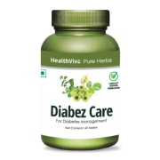 HealthViva Pure Herbs Diabez Care,  60 tablet(s)