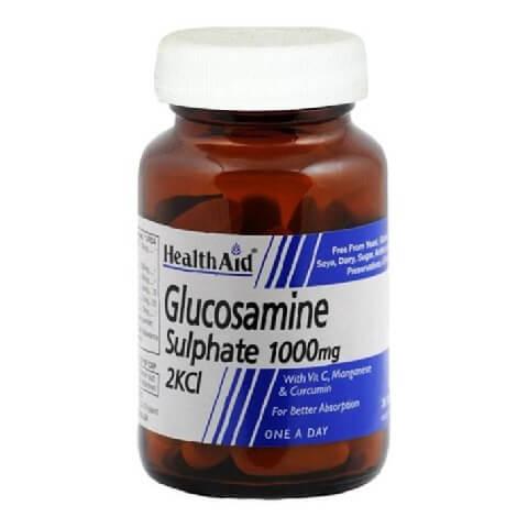 HealthAid Glucosamine Sulphate 2KCI (1000 mg),  30 tablet(s)
