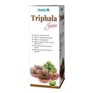Healthvit Triphala Juice,  Natural  0.500 L
