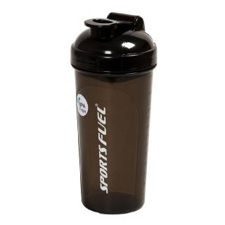 Sports Fuel Protein Shaker Regular,  Black  700 ml