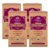 Organic India Tulsi Ginger Tea,  Unflavoured  25 Piece(s)/Pack  - Pack of 4