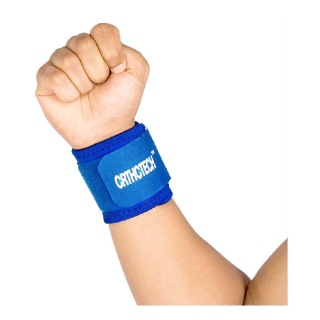 Orthotech Wrist Support (OR5110),  Blue  Free Size