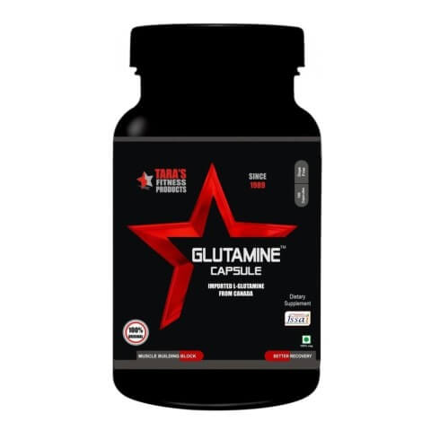 Tara Fitness Products Glutamine,  100 capsules  Unflavored