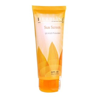Herbline Sun Screen Lotion SPF 40,  100 ml  UV A & B Protection