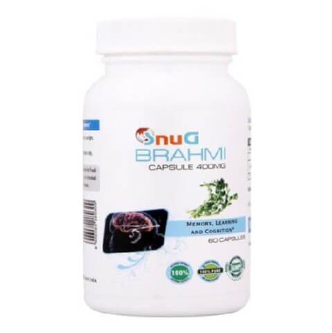 SnuG Brahmi 400MG,  60 capsules