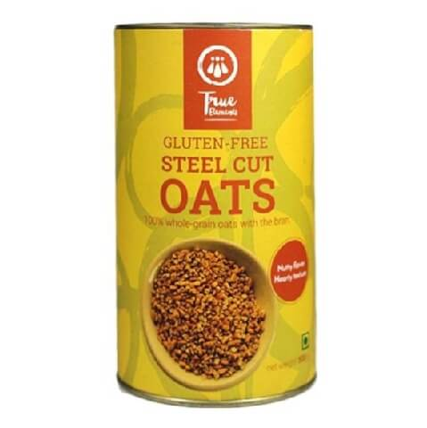 True Elements Gluten Free Steel Cut Oats,  Unflavoured  0.5 kg