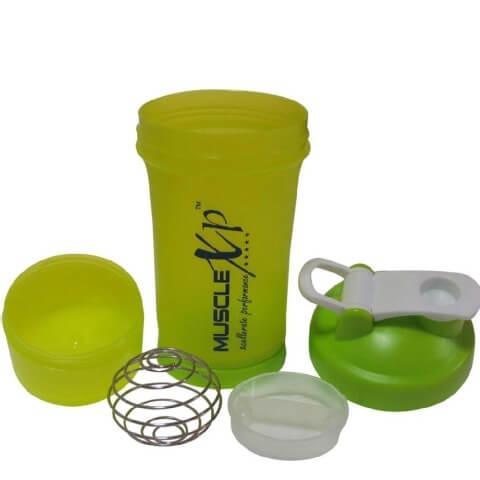 MuscleXP Advanced Stak Protein Shaker,  Neon Green  500 ml
