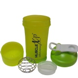 MuscleXP Advanced Stak Protein Shaker,  Neon Green  500 Ml