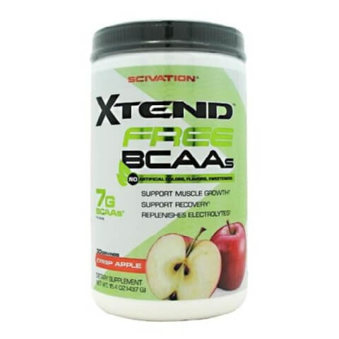 Scivation Xtend Free BCAA,  0.96 lb  Crisp Apple