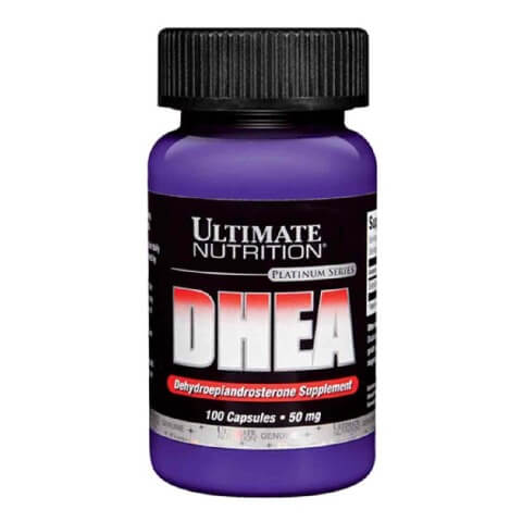 Ultimate Nutrition DHEA (50 mg),  100 capsules