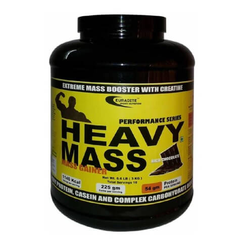 Euradite Nutrition Performance Series Heavy Mass,  Rich Chocolate  6.6 lb