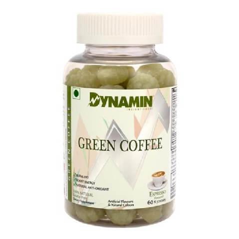 Dynamin Green Coffee,  60 gummies
