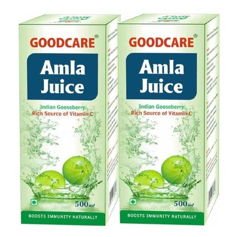 Goodcare Amla Juice - Pack of 3 Natural 0.500 L