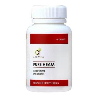 Add Veda Pure Heam,  60 capsules