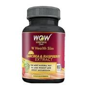WOW Garcinia & Raspberry Extract,  60 veggie capsule(s)  Unflavoured