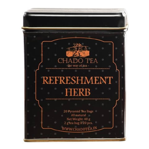 Chado Tea Refreshment Herb,  Unflavoured  20 Tea Bag(s)