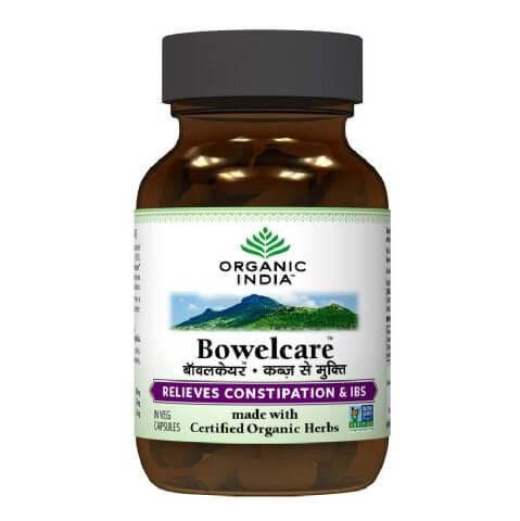 Organic India Bowelcare,  60 capsules