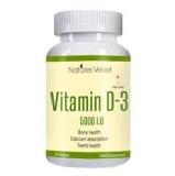 Natures Velvet Vitamin D-3 (5000 IU),  60 Softgels