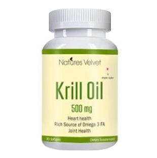 Natures Velvet Krill Oil (500 mg),  30 softgels