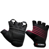 KOBO Weightlifting Gym Gloves (CG-02),  Black  Small