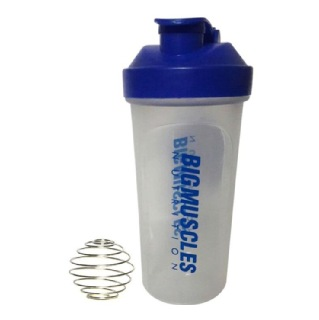 Big Muscle Shaker,  White & Blue  600 Ml