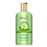 St.Botanica Luxury Shower Gel,  300 Ml  Green Tea & Cucumber