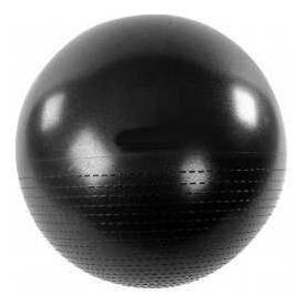 B Fit USA Gym Ball with Pump,  Black  55 cm