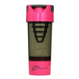Cyclone Cup Protein Shaker,  Pink  500 Ml
