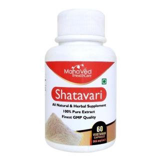 Mahaved Shatavari Extract,  60 capsules