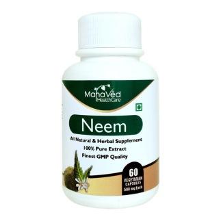 Mahaved Neem Extract,  60 capsules