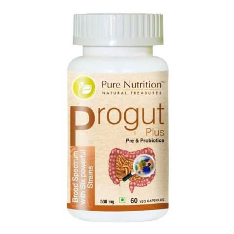 Pure Nutrition Progut Plus,  60 veggie capsule(s)