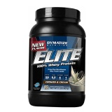 Dymatize Elite 100% Whey Protein,  2 Lb  Cookies & Cream