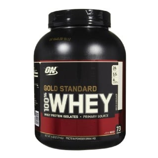 ON (Optimum Nutrition) Gold Standard 100% Whey Protein,  5 Lb  White Chocolate