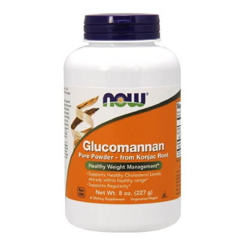 Now Glucomannan Pure Powder,  0.23 kg  Unflavoured