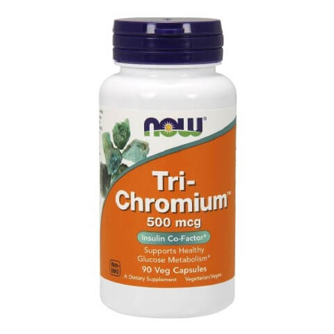 Now Tri-Chromium,  90 capsules