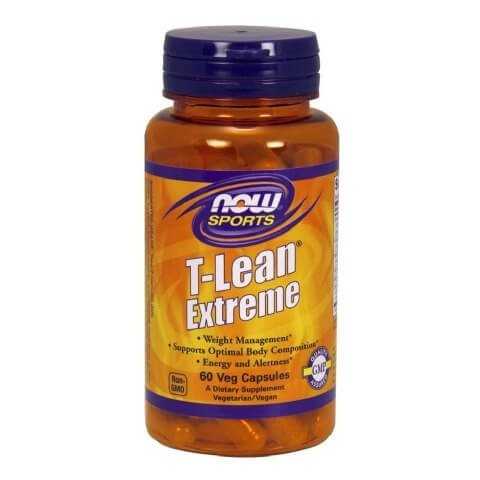 Now T-Lean,  60 veggie capsule(s)  Unflavoured