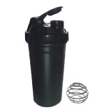 Day2Day Stunning Shaker Bottle,  Black  750 Ml