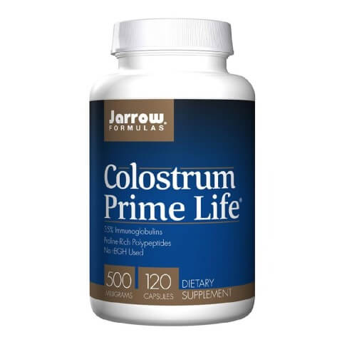 Jarrow Formulas Colostrum Prime Life 500 mg,  120 capsules