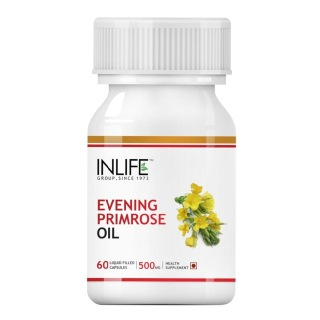 INLIFE Evening Primrose Oil,  60 capsules