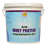 Saipro Raw Whey Protein Concentrate 80%,  4.4 Lb  Unflavoured