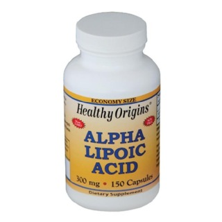 Healthy Origins Alpha Lipoic Acid 300 mg,  150 capsules