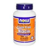 Now Flush-Free Niacin (500 Mg),  Unflavoured  90 Veggie Capsule(s)