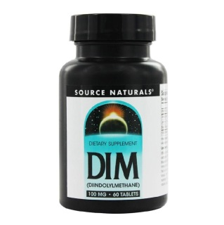 Source Naturals DIM 100 mg,  60 tablet(s)