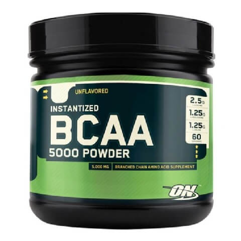ON (Optimum Nutrition) Instantized BCAA 5000,  0.7 lb  Unflavoured