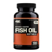 ON (Optimum Nutrition) Enteric Coated Fish Oil,  100 softgels