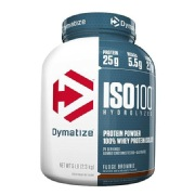Dymatize Iso-100 Protein,  5 lb  Fudge Brownie