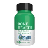 Purayati Bone Health Calcium D3 And Minerals,  Unflavoured  90 Tablet(s)