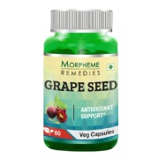 Morpheme Remedies Grape Seed Extract (500 mg),  60 veggie capsule(s)